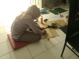 belajar membuat pola tas kanvas