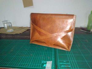 tas tangan kulit handmade
